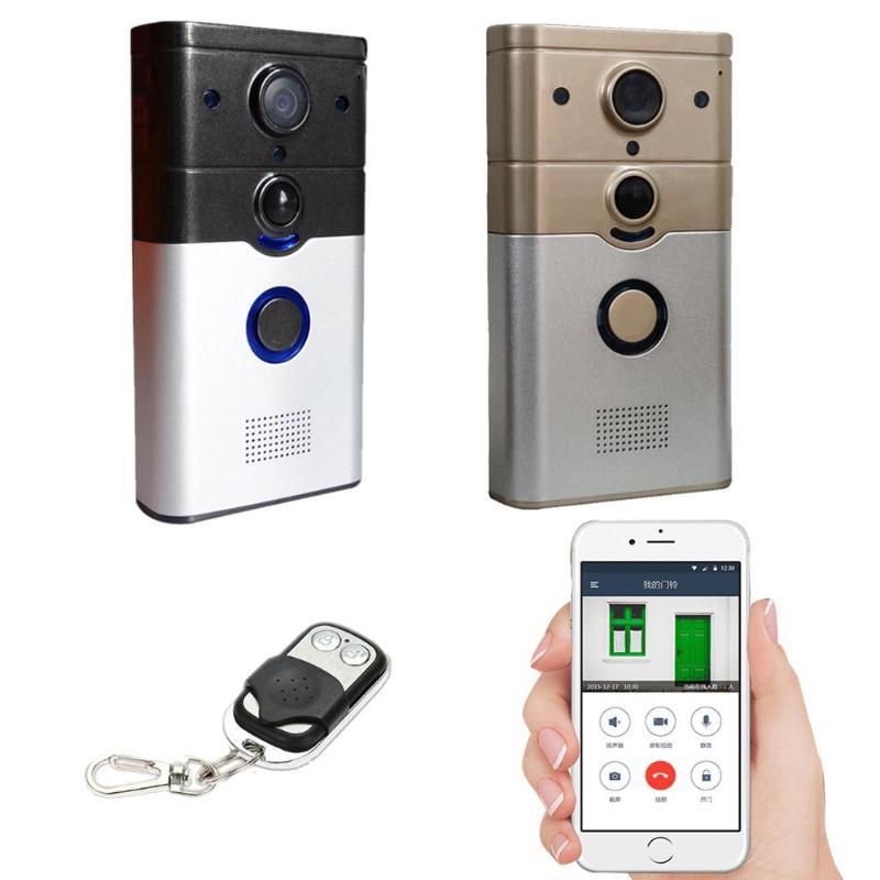 Wireless WifiI Video Doorbell Remote Video Intercom Phone APP Remote Monito