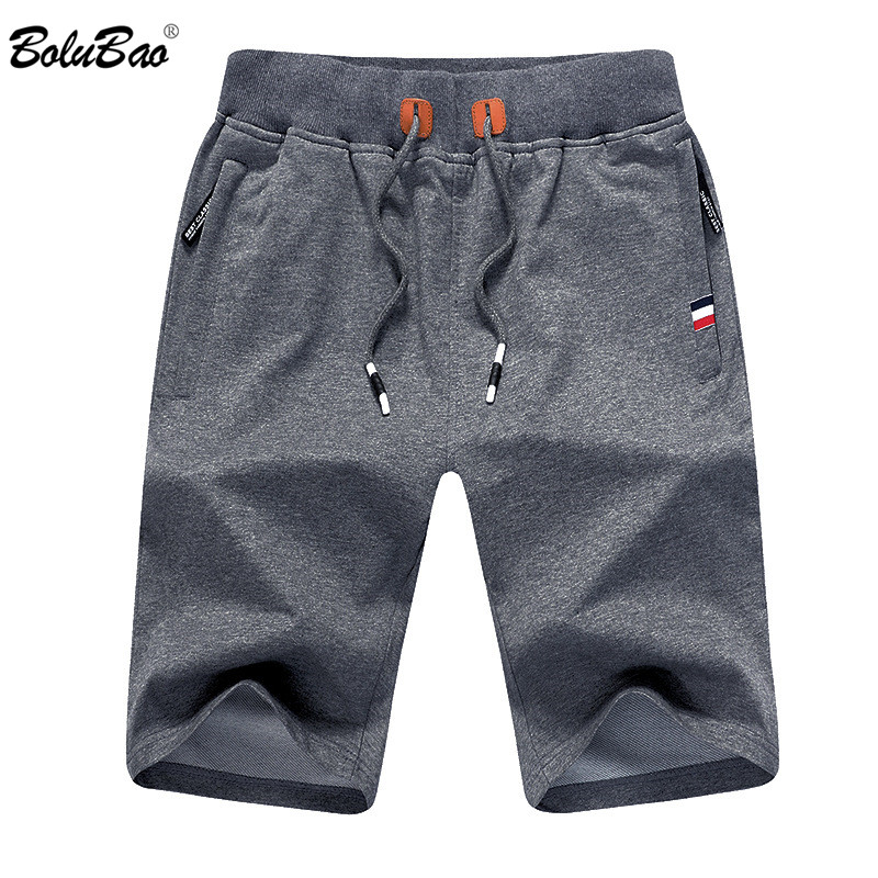 BOLUBAO Men Summer Casual   Shorts   Men Brand New Board   Shorts   Solid Breathable Elastic Waist Male Casual   Short   Men