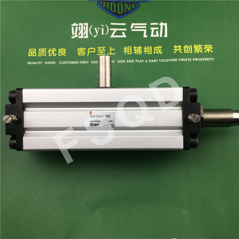 CDRA1BSU50-180C SMC orginal rack and pinion type oscillating cylinder rotary cylinder smc type cylinder msqb 50a rotary table rack and pinion type bore size 25mm accept custom air cylinder smc cylinder