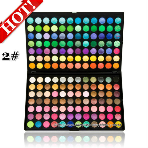 beleza maquiagem kit professional 168 cores shimmer matte maquiagem sombra palette set 24 jogos