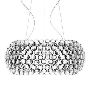 Modern Living Room Acrylic RS7 Bulb Pendant Lights Fixture Dining Room Foscarini Caboche Dia35/50/65CM Clear Gold Pendant Lamp