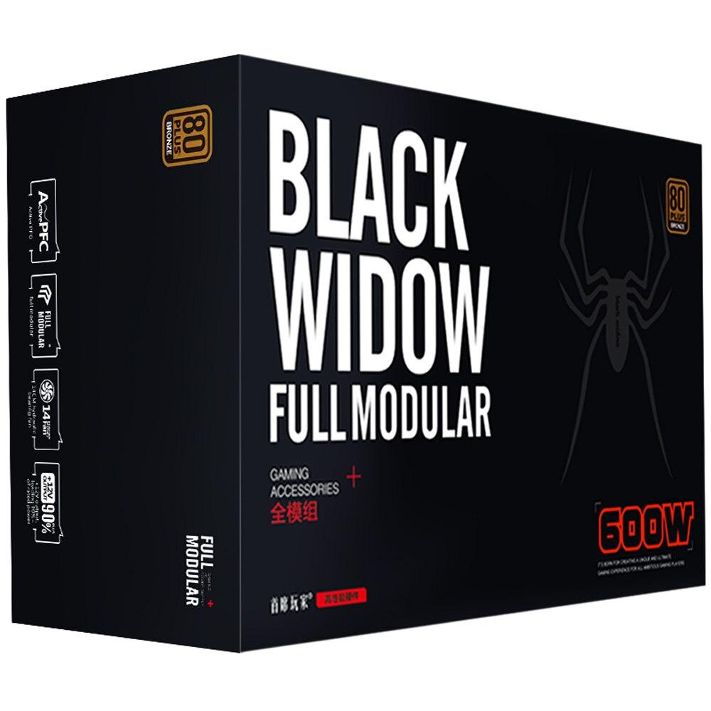 Power Supply 1stplayer Black Widow Ps 600ax 600watt 80 Bronze Digital Alliance Psu Gaming 500 Watt 600w 80plus Apfc Full Range Input Modular