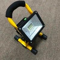 Waterproof IP65 1000lm Rechargeable Flood Light Portable Outdoor Emergenecy Light Garage Lamp Construction Site Spotlight