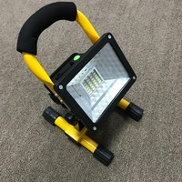 Waterproof IP65 1000lm Rechargeable Flood Light Portable Outdoor Emergenecy Light Garage Lamp Construction Site Spotlight