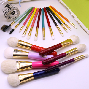 Image 5 - ENERGY Brand Professional 19pcs Colorful Rainbow Makeup Brush Set Make Up Brushes +Bag Brochas Maquillaje Pinceaux Maquillage