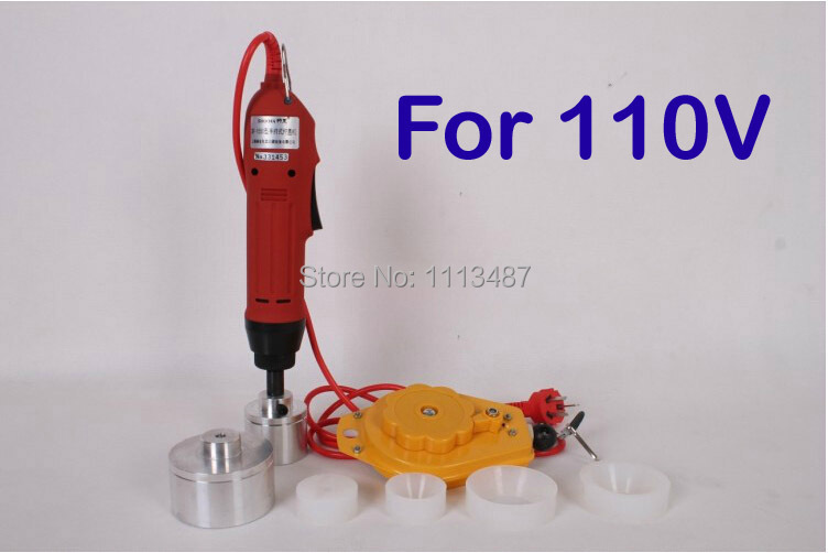 цена на New Manual Electric Capping Machine Screw Capper Plastic Bottle Capping Machine for 10-50mm 110V