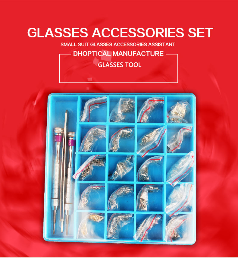 Livraison gratuite lunettes vis ensemble, 20 accessoires différents lunettes de soleil vis, lecture lunettes vis nez pad vis ensemble de vis