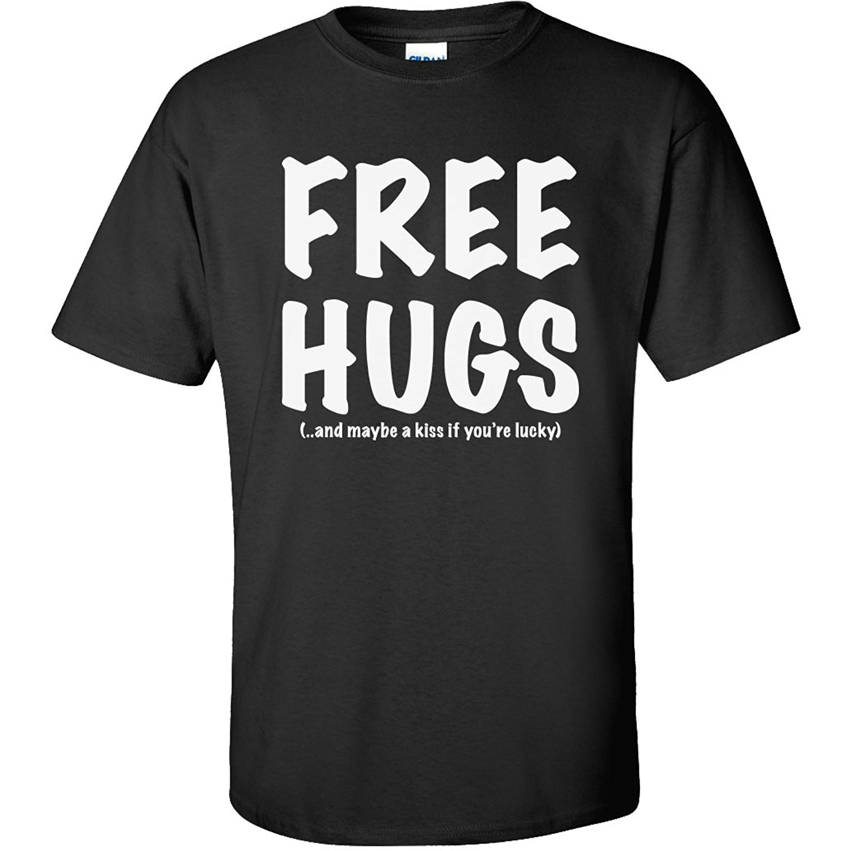 Design t shirt free - 2017 New Arrival Streetwear Men S T Shirt Free Hug Graphic Design Hang Tags Elements Print Sweater