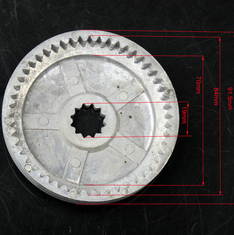 YIMATZU ATV Parts Gear for <font><b>2000LB</b></font> ATV Winch image