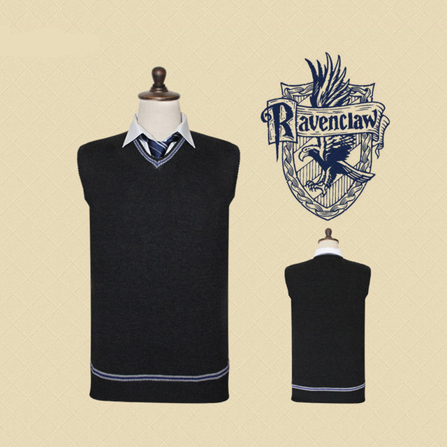 Harri-Potter-Sweater-Gryffindor-V-Neck-Harry-Slytherin-Sweater-With-Tie-Waistcoat-Black-all-match-Daily.jpg_640x640 (2)