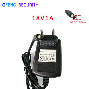Fuente de alimentación 18v 18V1A AC 100 V-240 V adaptador de corriente DC 18V 1A 1000mA de alimentación de enchufe de la UE DC 5,5mm x 2,5mm