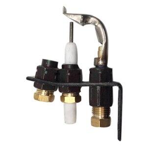 MENSI Gas Boiler Catering Ignition Pilot Burner Head with Electorde LPG Gas Mini Flame Burners 120pcs/lot