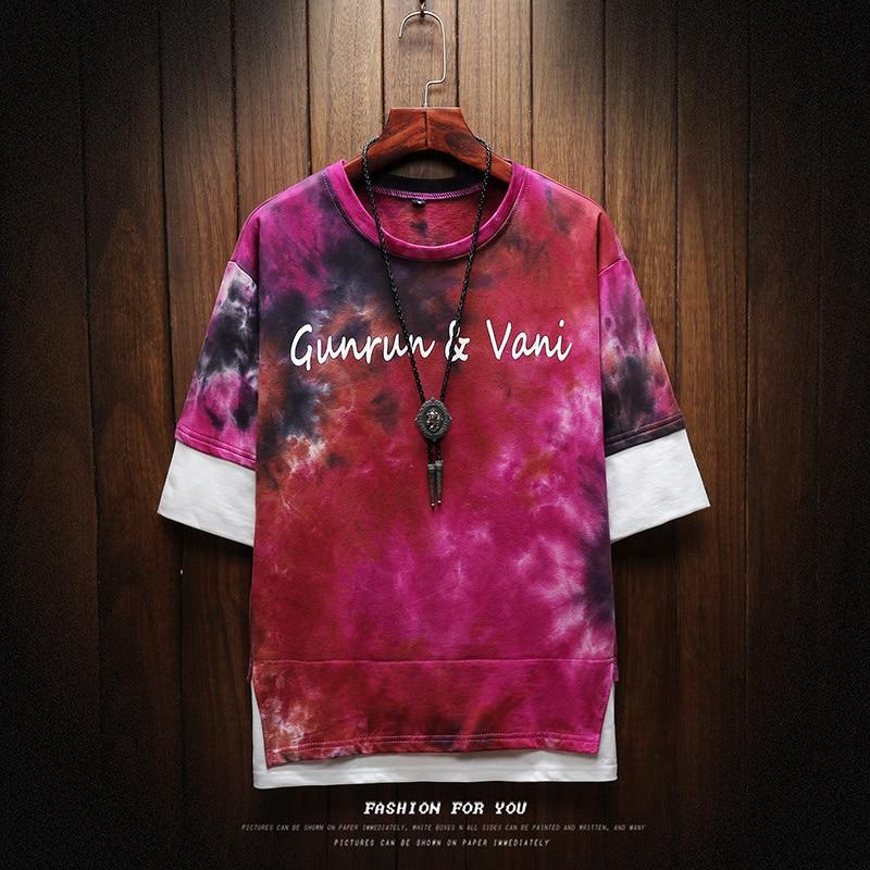 2019 NEW T shirt men Harajuku Streetwear funny fashion t shirt men T shirt hip-hop shirt summer men's t-shirt M-5XL 4