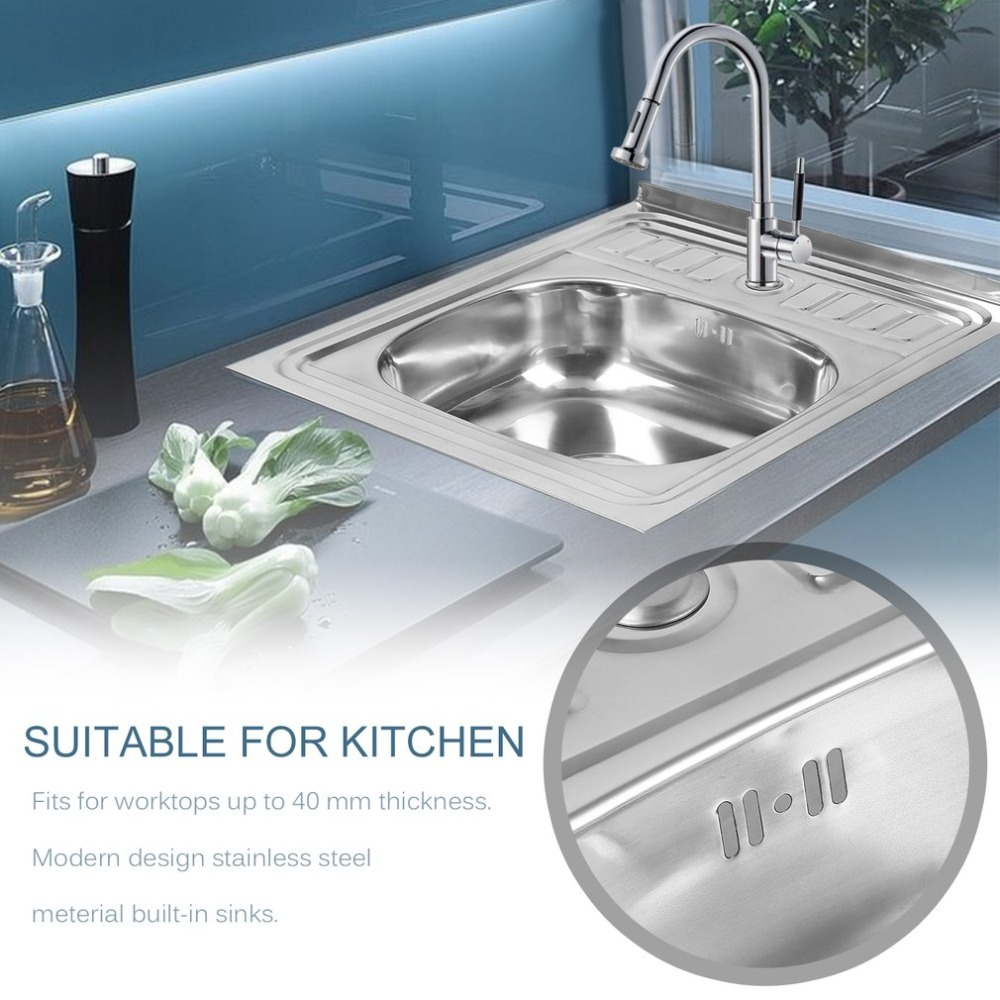 Aliexpress.com : Buy Stainless Steel Sink Single Sink ...