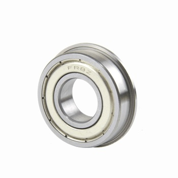 "100pcs/lot FR8ZZ FR8Z FR8 ZZ Z 1/2"" x 1 1/8"" x 5/16"" Inch flange Ball Bearing shielded 12.7x28.575x7.938 mm flanged bearing"