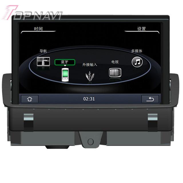 8 pulgadas Wince Radio Estereofonia Del Coche Para Audi A3 (2014-2015) 8 pulgadas de Tamaño de Pantalla Car Electronics Car PC de la Tableta de Navegación GPS Reproductor de Vídeo