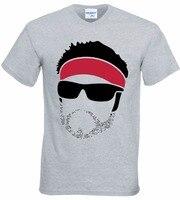 Для мужчин короткий рукав хорошее качество футболка футболки новый летний Повседневное Slim Fit брендовая одежда богатый froning лицо игры Crazy фут...