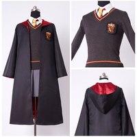 Kids Gryffindor Uniform Hermione Granger Cosplay Costume Child Version