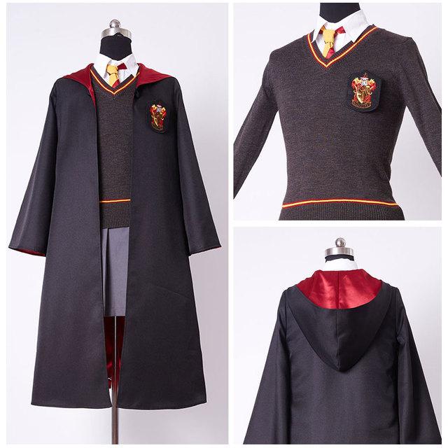 kids gryffindor robe uniform hermione granger cosplay. Black Bedroom Furniture Sets. Home Design Ideas