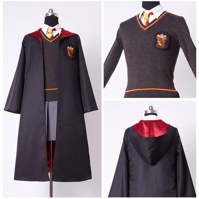 Colorado Film School: Kinder Gryffindor Robe Uniform Hermine Granger Cosplay