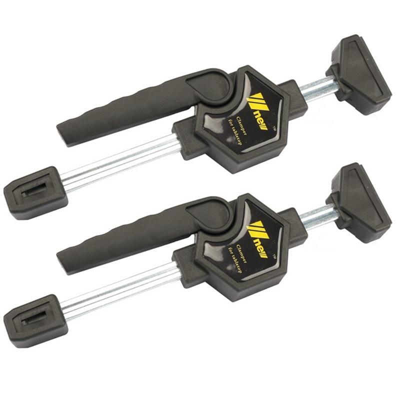 Chaud noir rapide cliquet libération vitesse presser bois travail barre pince Clip Kit épandeur Gadget outil bricolage main