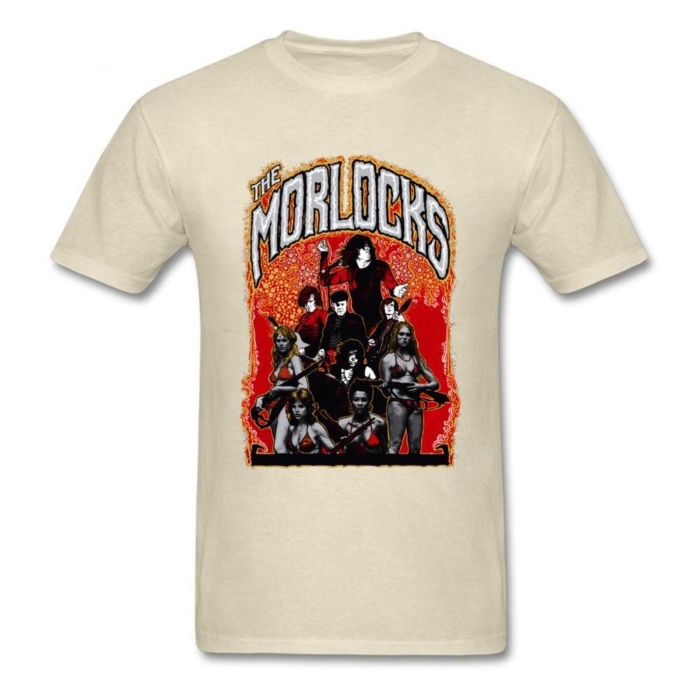 2018 Hot Sale Men's T Shirt O Neck Short Sleeve Cotton Gift Tops & Tees Comics Tshirts Wholesale Best Art Poster The Morlocks Italy 11134 beige