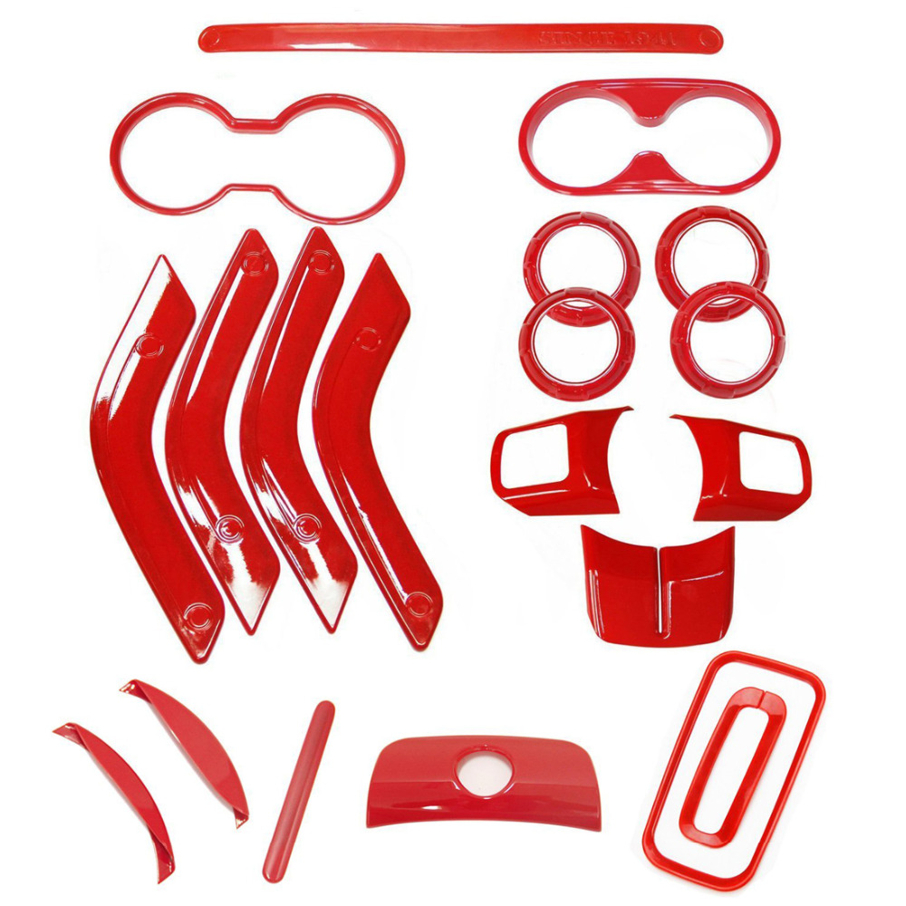trim kit picture - more detailed picture about 18 pcs full set