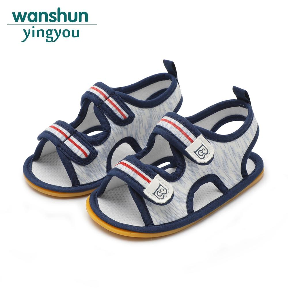 2019 Neuer Stil Baby Jungen Sandale Schuhe Neugeborenen Krippe Marke Schuh Weiche Schlehe Bebes Sommer Schuhe Casual Nette Für Kind Großhandel 2018 Mode Kleinkind Ungleiche Leistung