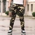 XXL-8XL Plus Size Calças Da Carga Dos Homens Do Exército Camuflagem Sweatpants hip hop Calças (XXL 3XL 4XL 5XL 6XL 7XL 8XL)