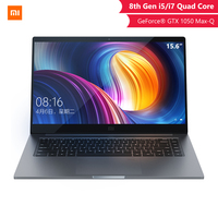 Xiaomi Original Notebook Pro 15 6 pulgadas GTX 1050 max q 4GB GDDR5 juego de portátil ordenador de oficina I5 8G/I7 16G notebook profesional|Ordenadores portátiles| |  -