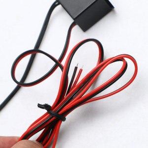 Image 3 - Pilote dalimentation pour fil néon 12V DC, Mini contrôleur dalimentation pour câble lumineux, 1 à 5M, onduleur, adaptateur dalimentation, Flexible