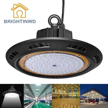 BRIGHTINWD IP65 100-265V LED UFO High Bay Light 100W 150W 200W LED Ceiling Mining Lamp LED Industrial Spotlighting