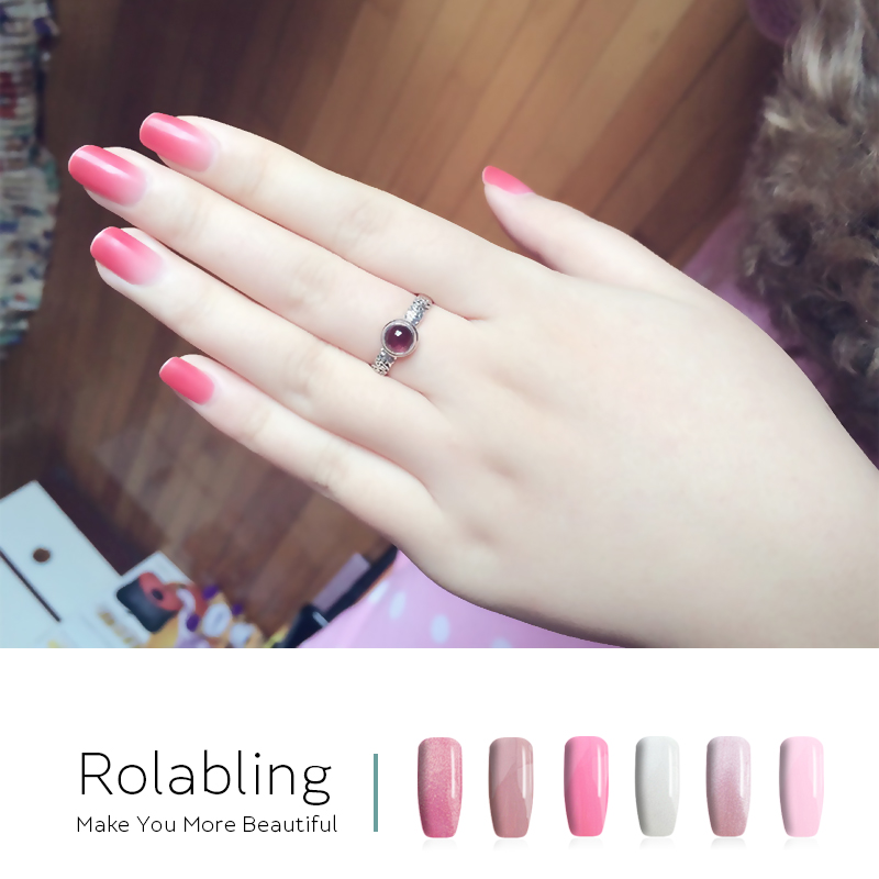 Aliexpress New Pink Barbie Beauty Color 1 Bottle Gel Nail Polish 10ml Long Lasting Uv Primer Fingernails Soak Off Lacquer From