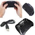 Acessórios joystick ps4 ps4 play station 4 mensagem sem fio chatpad teclado para playstation 4/slim/pro jogo gaming controlador