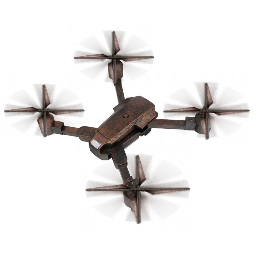 Unique Bronze Color 2.4G 4CH Altitude Hold HD Camera WIFI FPV RC Quadcopter Pocket Drone Selfie Fold RC Quadcopter Drone 12.25 yizhan i8h 4axis professiona rc drone wifi fpv hd camera video remote control toys quadcopter helicopter aircraft plane toy