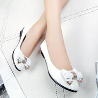 Spring Autumn Toe Flat Heel Bow Tie Shoes Women Fashion Women S Flat Shoes Comfystyle 5