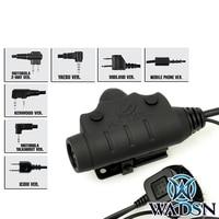 Z tac wired finger switch ptt walkie talkie Tactical U94 PTT NEW Version headset ptt