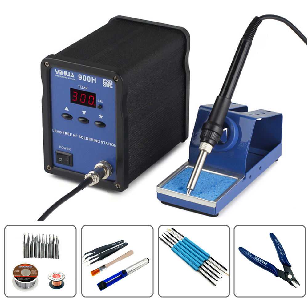 YIHUA 900H Lead Free High Frequency Welding Platform Eddy Current Heating Microcomputer Control Digital Soldering Station