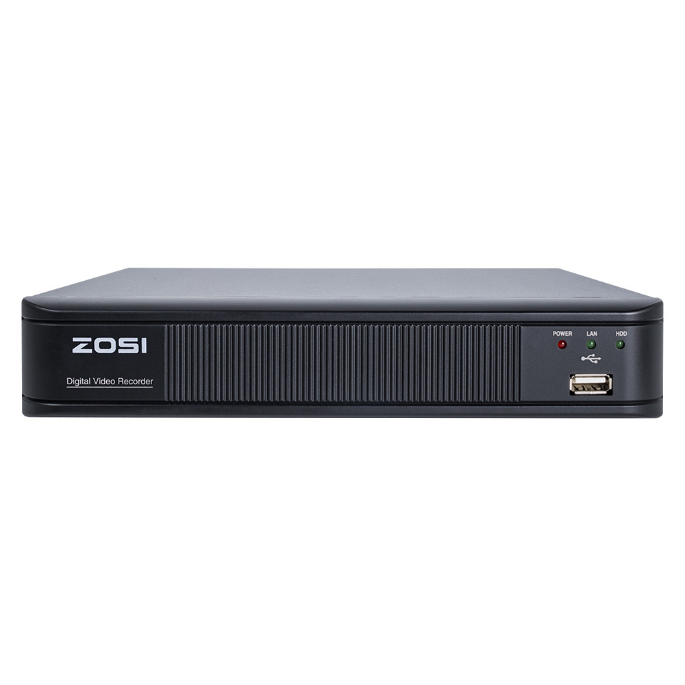 ZOSI 4 Channel Digital Video Recorder Full 720P CCTV DVR H.264 HDMI 1080P Video Output 4ch CCTV Surveillance DVR dvr 4 channel 4pcs indoor dome 700tvl cctv cameras with ircut night vision hdmi video recorder h 264 remote view cctv system