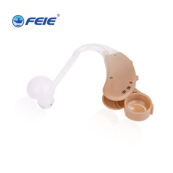 BTE Hearing Aid Adjustable Sound Amplifier Ear Care Device For Hearing Drop Elderly Behind Mini Hearing Aids S-268 s 217 digital audio service hearing aid bte hearing impairement for elderly factory direct china drop shipping
