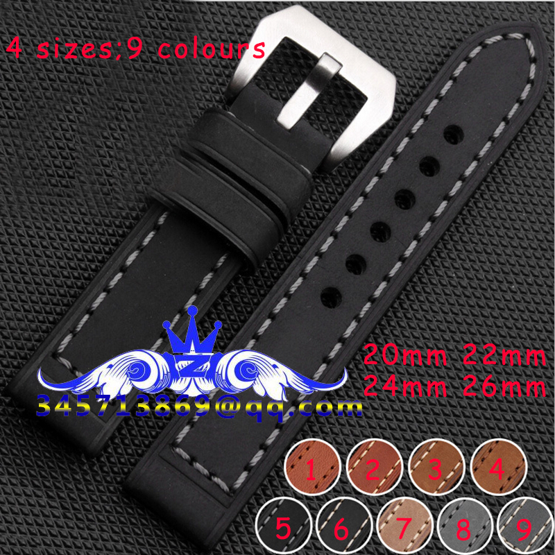 Free shipping Special Offer Handmade Genuine Cowhide Leather High Quality Watchband Watch Straps Hot Sale 20mm 22mm 24mm 26mm 2015 top fashion toner parfumes women free shipping special offer free shipping genuine moist skin zimei tea tree oil acne water