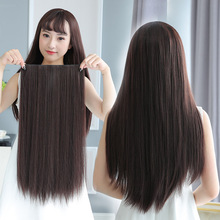 Hair Extension Human Bundles With Closure Brazilian Weave Straight Lace