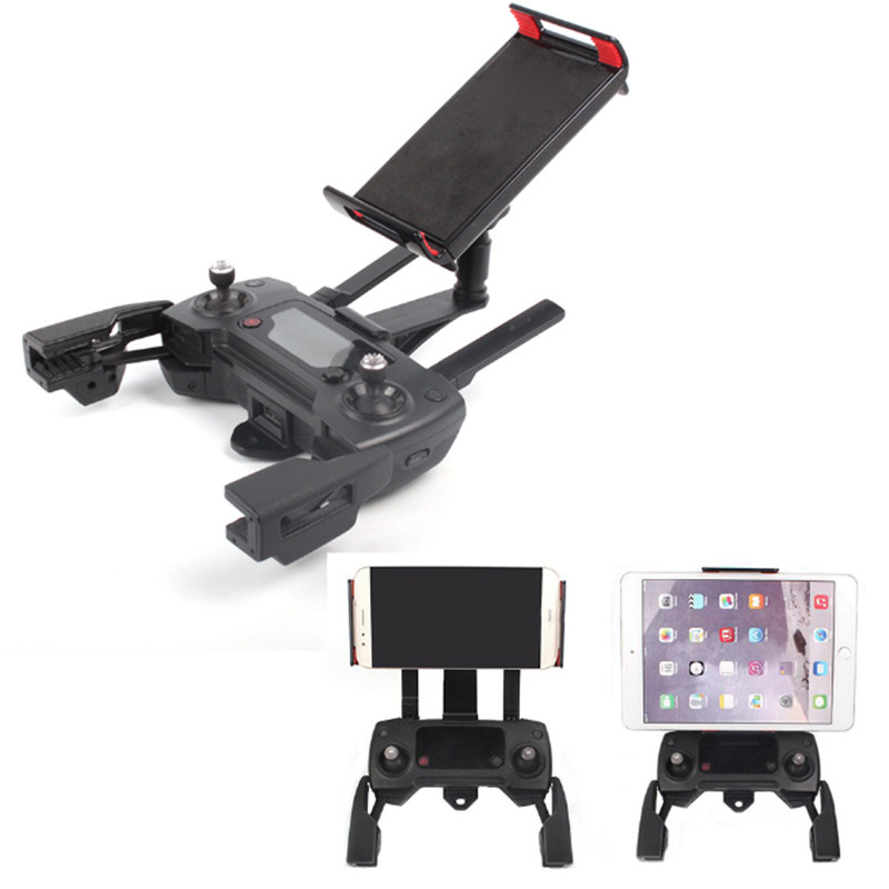 for DJI Remote Control Holder bracket Phone Tablet Front bracket Holder for DJI Mavic Air / Mavic Pro Platinum For DJI Spark dji mavic pro platinum drone part night flying led light mount buckle holder bracket frame kit for dji mavic pro accessories