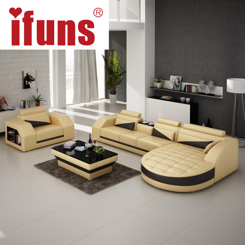 Aliexpress.com  Buy IFUNS designer corner sofa bedeuropean and american style sofarecliner italian leather sofa set living room furniture from Reliable ... & Aliexpress.com : Buy IFUNS designer corner sofa bedeuropean and ... islam-shia.org