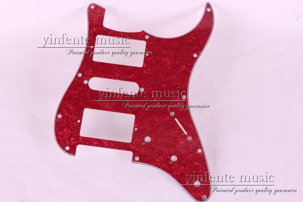 New 1pcs Electric Guitar pickguard Strat/ST Yellow style 3-ply HSH #A64