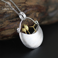 Exclusive 2015 New Arrival Very Unique My Little Garden Design Pendant For Women 925 Sterling Silver