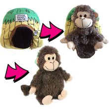 35cm 2 pcs Novelty Plush Monkey & Bee Toys Live In Sweet home, New Design Stuffed Animals For sales Gift for Kids