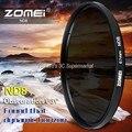 Zomei Тонкий Фильтр Нейтральной Плотности ND8 НО 2/4 8 52 мм 55 мм 62 мм 67 мм 72 мм 72 nd фильтр 77 мм для Canon Sony Цифровой Зеркальный Фотоаппарат Pentax объектив