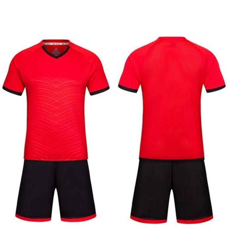 The best polyester cheap soccer uniform top thailand maillots de football 2016/2017 custom team football jerseys LD-5017