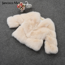Women Real Fox Fur Short Coat Top Quality Winter Thick Warm Jacket Fashion Natural Outerwear S7431